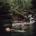 Ky and Len in Siviri waters