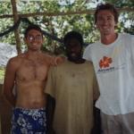 Me with Chris and Nicholas at Tiki